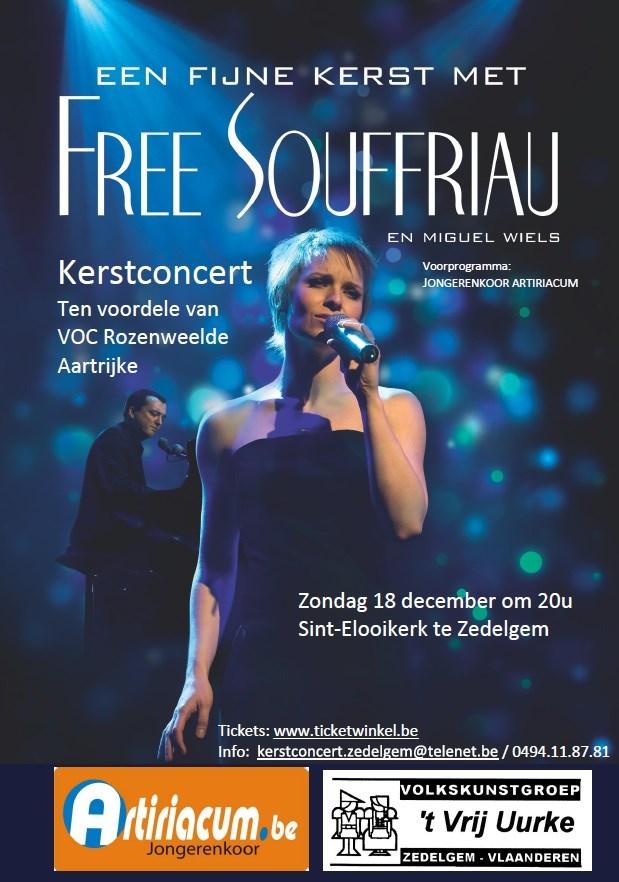 Een fijne kerst met Free Souffriau