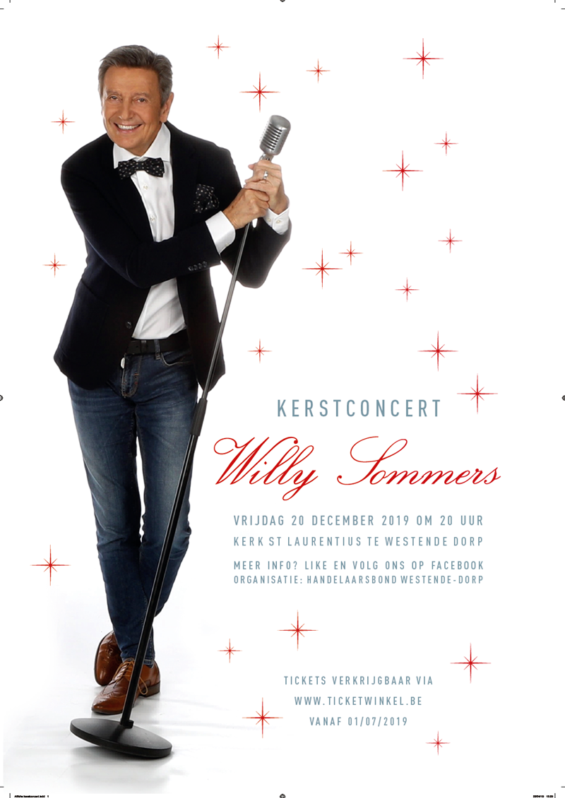 Kerstconcert Willy Sommers