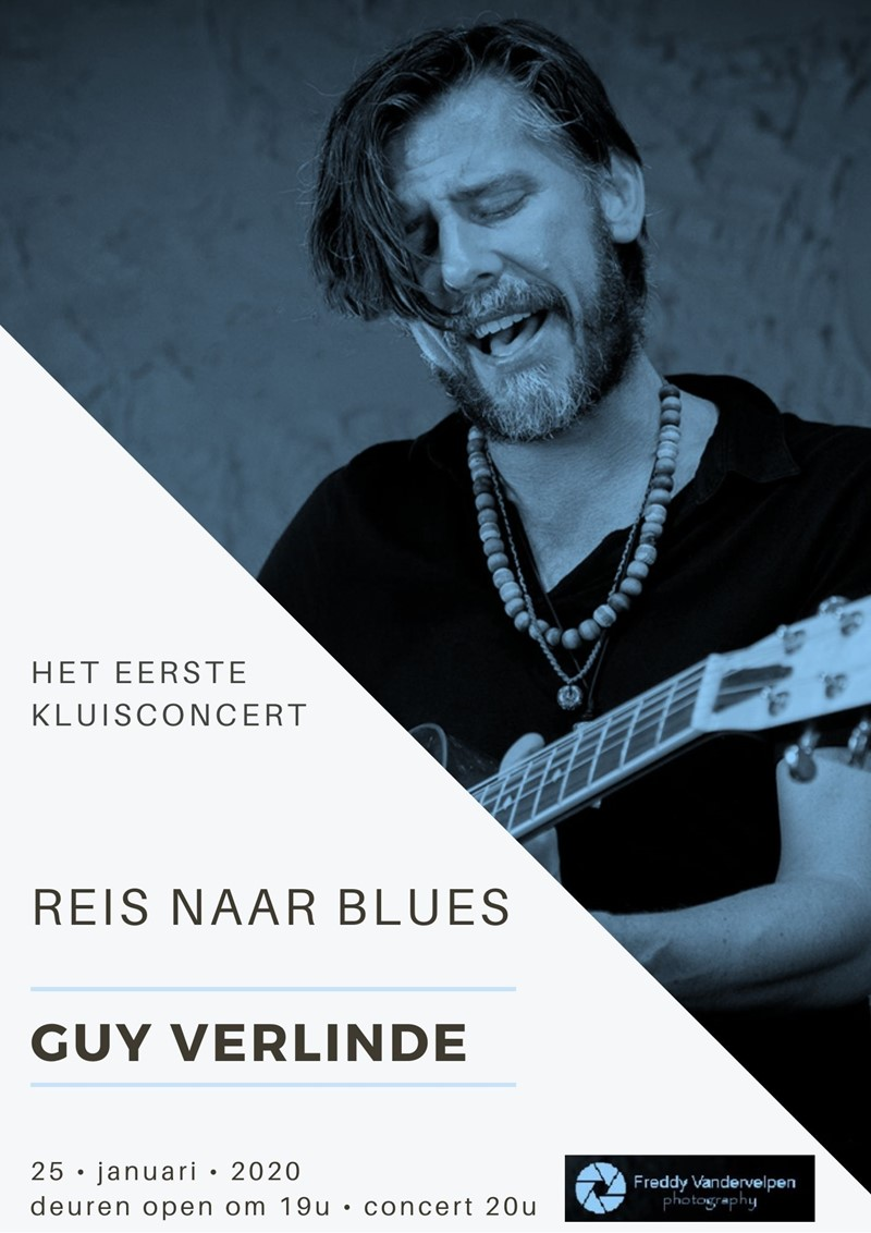 REIS NAAR BLUES GUY VERLINDE
